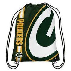 NFL Green Bay Packers Big Logo Drawstring Bag