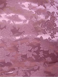 Mauve Eversong Brocade Fabric - Bridal Fabric by the Yard