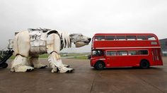Greenpeace Unveil Largest Polar Bear In The World Puppet