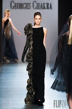 Georges Chakra – 49 photos - the complete collection Georges Chakra, Couture Mode, Style Couture, Couture Fashion, Rami Al Ali, Valentin Yudashkin, Women's Runway Fashion, Europe Fashion, 3d Fashion