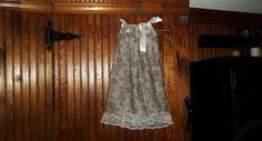 LACE & Calico Pillowcase Dress NEW 2012 Limited by tiffanyfox1, $18.00