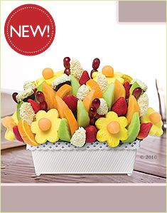edible arrangements flower box