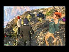 GTA 5 | Гора Чилиад | И прыжки в воду
