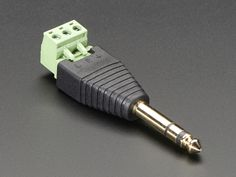 """NEW PRODUCT - 1/4"""" (6.35mm) Stereo Plug Terminal Block"""