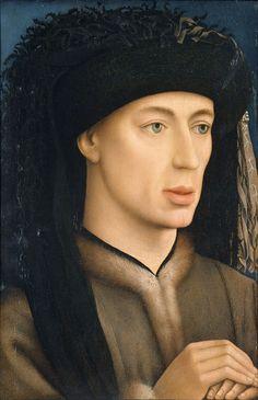 Workshop of Rogier van der Weyden (1399/1400–1464) — Portrait of a Man, 1430 : The National Museum of Western Art, Tokyo. Japan (736×1139)