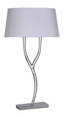 Nickel Branch Table Lamp
