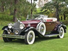 1931 Packard Deluxe Eight Roadster   Monterey 2011   RM Sotheby's