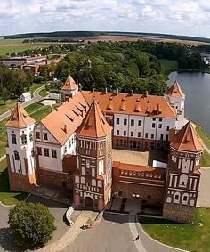 Click through for video of Mir Castle, Belarus. Mir Castle in Grodno region is one of the most important tourist attractions in Belarus, an outstanding 16th-century fortification and a UNESCO World Heritage site.