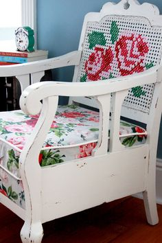 Chalk Paint Powder Chair Refinish
