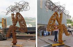 Art Installations by Lebanese artist Nadim Karam