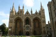 Gothic style cathedral (Peterborough)