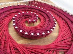 DIY String Art Kit Wine String Art Crafts Kit by StringoftheArt