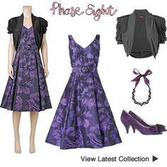 Buy Phase Eight Purple Sasha Dress & Shrug Phase Eight Dresses, Shrug For Dresses, Occasion Wear, Winter Collection, Cover Up, Bridal, Purple, Stuff To Buy, Bride