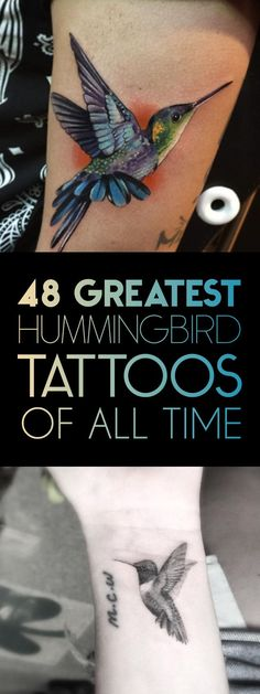 Only The Best Hummingbird Tattoos!                                                                                                                                                                                 More