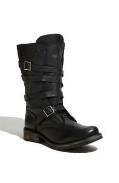 Steve Madden banddit buckle boots. I just want to hug these...