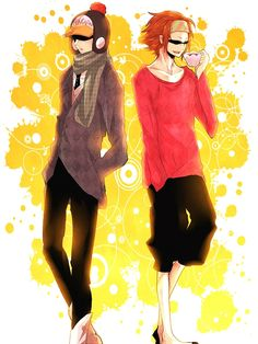 Penguin and Shachi #one piece
