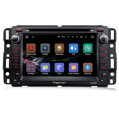 "7"" Quad Core Android 5.1.1 OS Special Car DVD for Chevrolet Silverado 1500 2009-2012 & Avalanche 2009-2011 & Traverse 2008-2012"