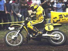 Brad Lackey cam.del mundo 500cc. 1982 con Suzuki