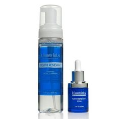 Dr Graf Youth Renewal YOUTH SERUM & FOAMING FACIAL CLEANSER DUO by Dr Graf. $29.99. Helps reduce the appearance of roughness, pore size and fine lines and wrinkles. Leaves skin looking cleansed, moisturized and feeling soft and supple. Helps improve skin firmness, texture and optimize elasticity. Apply a moderate amount of the cleanser over wet face and throat area and massage gently.  Rinse with warm water and pat dry. Follow with the serum day and night. Save 25% Off!