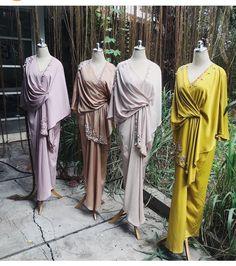 By ava prologue Modern Hijab Fashion, Batik Fashion, Abaya Fashion, Muslim Fashion, Modest Fashion, Women's Fashion Dresses, Hijab Dress Party, Hijab Style Dress, Kebaya Dress