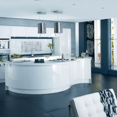 roomenvy - sleek modern kitchen
