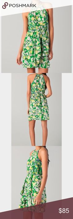 NWT Silk Floral dress Gorgeous silk dress from Rebecca Taylor. Never worn, with tags. Rebecca Taylor Dresses