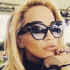 Womans 2016 New Designer Cat Eye Women Sunglasses