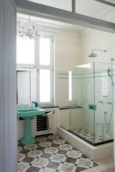 1000 images about art deco bits on pinterest art deco for Small art deco bathroom ideas