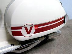 Vespa PX125E antique white