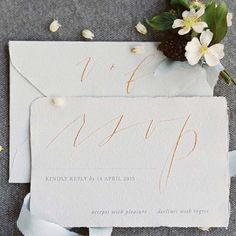 """Thinking about incorporating calligraphy in to your wedding? On Once Wed today @kristara is sharing 5 helpful tips on this topic. 