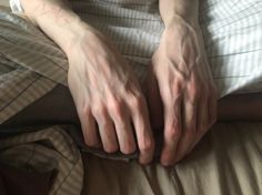 These hands fill me with sadness. They remind me of my father's.