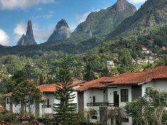 Teresopolis, Dedo de Deus, Brasilien