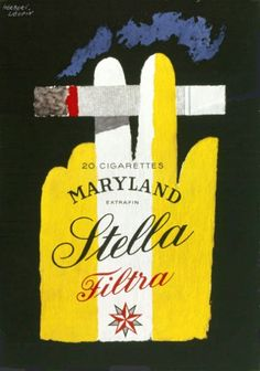 By Herbert Leupin, 1 9 5 6, Stella Filtra.