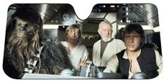 A Star Wars sunshade that'll turn your car into the Millennium Falcon. | 22 Awesome Products From Amazon To Put On Your Wish List