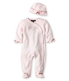 Wendy Bellissimo™ 2-pc. Footed Coverall Set – Baby Girls