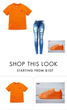 """""""Some  Simple #2"""" by byrdty ❤ liked on Polyvore featuring adidas"""