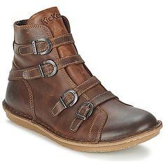 Boots  Kickers WAXING Braun Kostenloser Versand bei Spartoo.de ! - Schuhe f6f8113564e