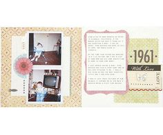 Scrapbook a Family Member's Personal Style