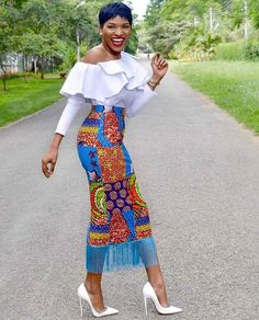 When picking out Sunday church clothing the first important thing to consider is.... African Print Dresses, African Dresses For Women, African Wear, African Attire, African Fashion Dresses, African Women, African Style, African Print Skirt, African Outfits