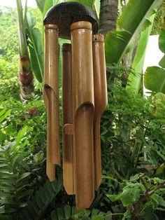 Ahh wooden windchimes