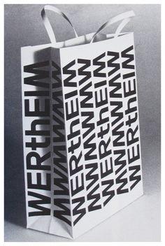 Walter Ballmer. Wertheim bag