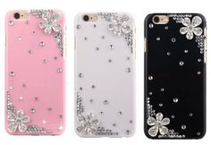 Rhinestone Floral Crystal phone case For iphone 5 5s