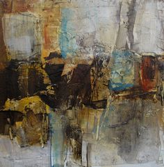 ORIGINAL Abstract Painting Art Oil  ABSTRACT by colettedavis, $95.00