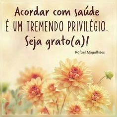 Seja grato (a)