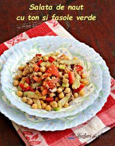 salată de năut cu ton Cooking Recipes, Vegetables, Breakfast, Food, Morning Coffee, Chef Recipes, Essen, Vegetable Recipes, Eten