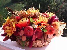 AtaJanson / Jesenná dekorácia ...keď ešte slnečné lúče hrejú...