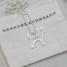 Chihuahua - Pendant > Chester & Company Shop