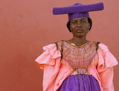 Herero woman, Namibia, Africa by RURO photography, via Flickr