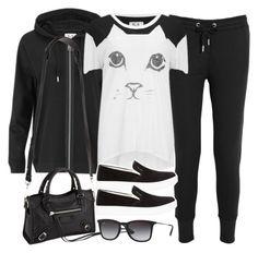 """""""Style #9598"""" by vany-alvarado ❤ liked on Polyvore featuring Zoe Karssen, Prada Sport, Balenciaga and Ray-Ban"""