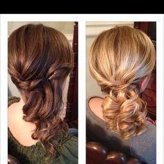 Winter Formal Hair!